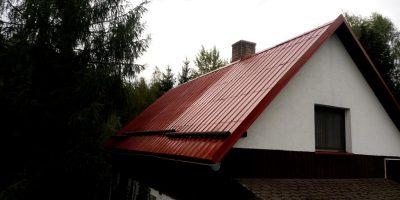 Po nátěru střechy